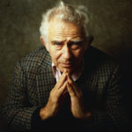 Norman Mailer admired my chest – because I was wearing my book cover!