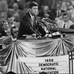 Madly for Adlai and Jack at the Democratic National Convention in 1956